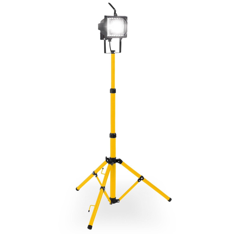 Halogen Strahler Baustrahler mit Stativ, Flutlicht, Scheinwerfer - Art. POWLI025 VARO