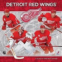 Detroit Red Wings 2013 Wall Calendar