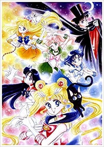 Anime Wall Calendar  X Sailor Moon Manga Anime Vol  Amazon Com Books