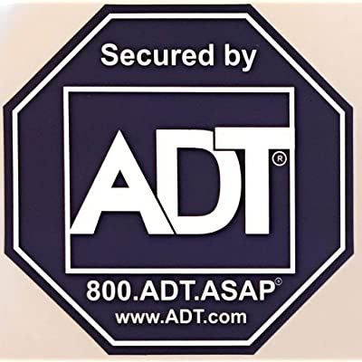8 - ADT Sticker Decals - Double-Sided Authentic Dark Blue: Camera & Photo