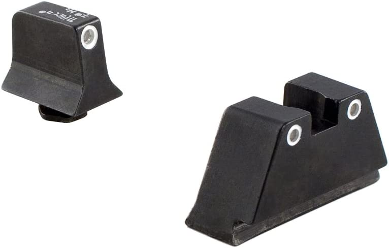 Trijicon GL204-C-600689 Bright & Tough Night Sight Suppressor Set, Glock 20/21/29/30/36/40/41, White Front/ White Rear with Green Lamps : Sports & Outdoors