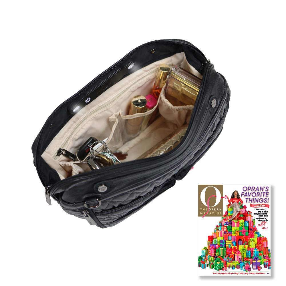 LittBag by PurseN LED Lighted Organizer Insert for Handbags Purses by PurseN