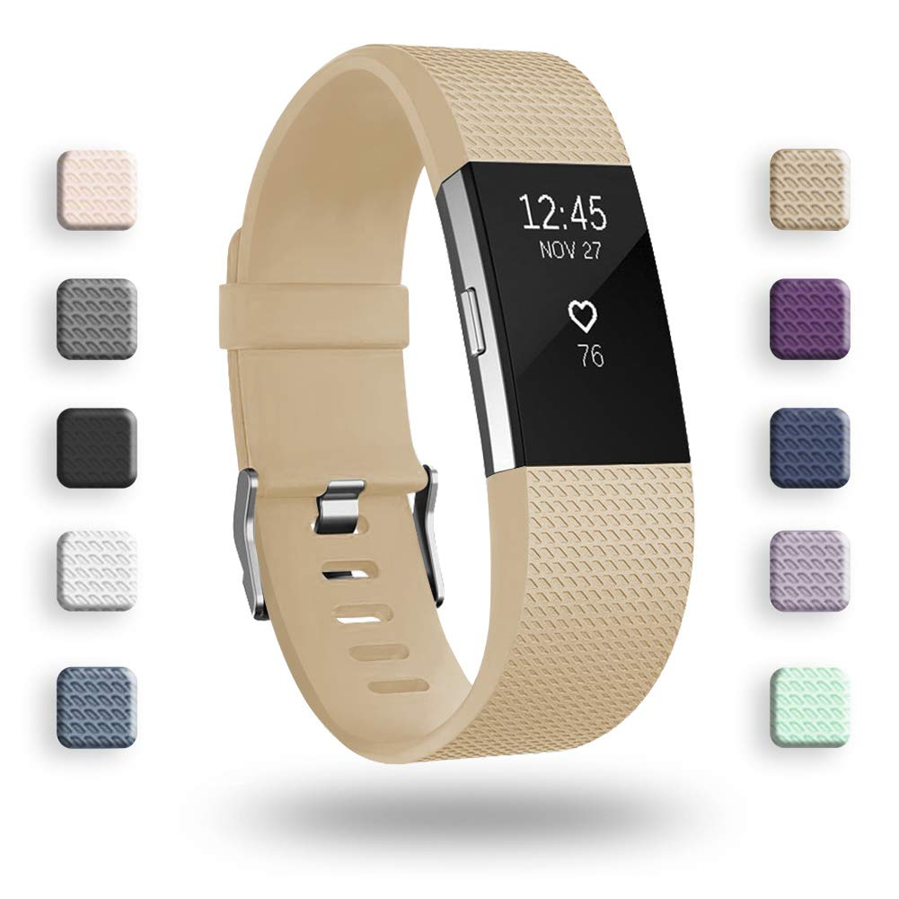 Malla Small para Fitbit Charge 2 Broncearse -7CKP1DN2