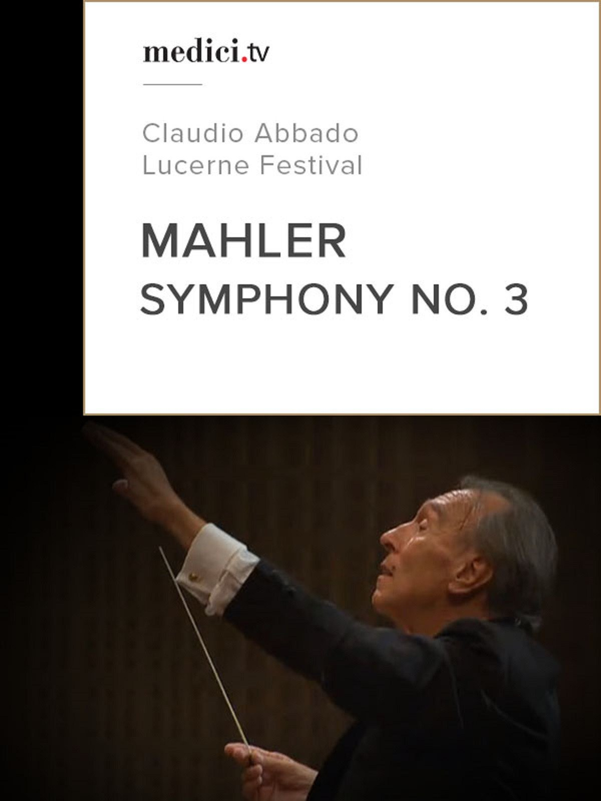 Mahler, Symphony No. 3 on Amazon Prime Video UK