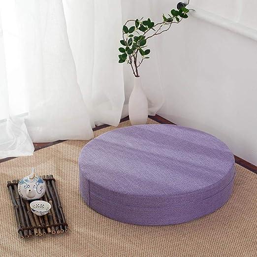 Hombre de Estilo japonés futón adoración Buda Sentado cojín ...