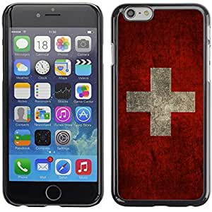 Graphic4You Vintage Swiss Flag of Switzerland Design Hard Case Cover for Apple iPhone