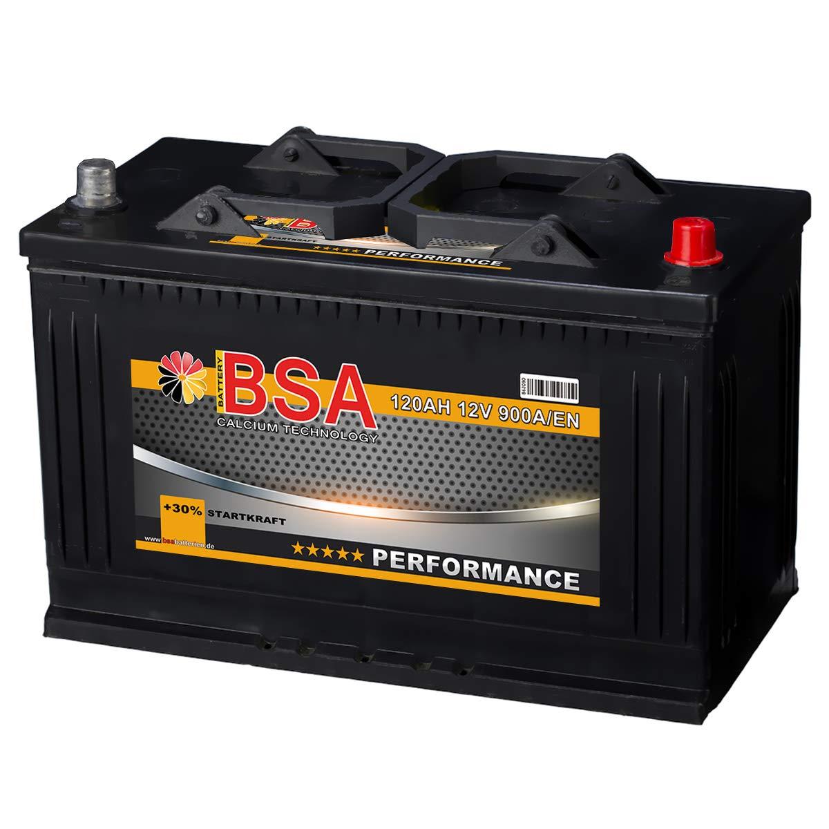 wartungsfrei Accurat AGM Autobatterie Starter I60 12V 60Ah 680A Top-Startleistung und hohe Zyklenfestigkeit ideal f/ür Start-Stop /& Hybrid Fahrzeuge