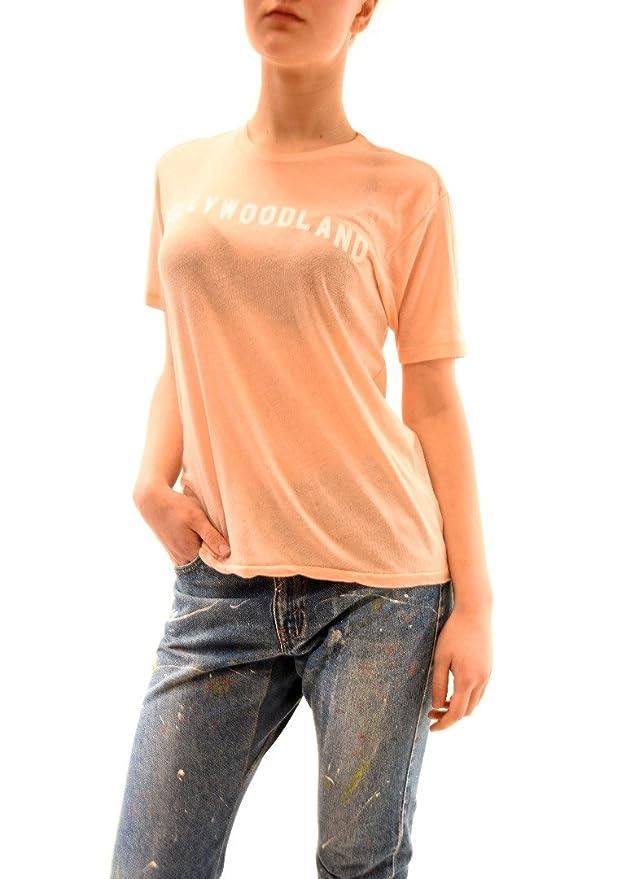 Wildfox Damen Hollywoodland Cotton Candy Top Tee Peach Größe XS: Amazon.de:  Bekleidung