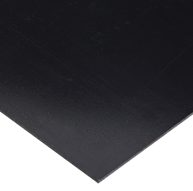 """BLACK KYDEX V PLASTIC SHEET 1//8/"""" X 24/"""" X 48/"""" VACUUM FORMING"""