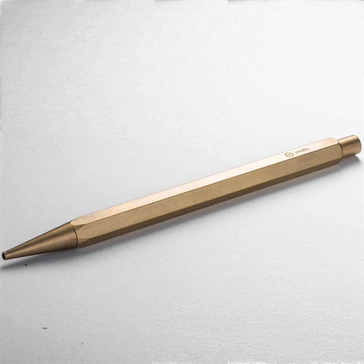 Ystudio Classic Porte-mine /à dessin en laiton avec mine en graphite /Épaisseur 2,0 mm