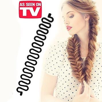Amazon Com Kroo Fashion Hair Styling Diy Fishtail Braid Braiding