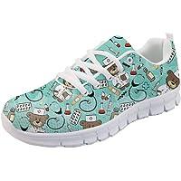 Nopersonality Damen Nurse Bear Sportschuhe Sneaker Walkingschuhe EU 36-43