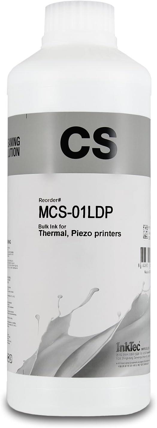 Líquido InkTec para limpiar restos de tinta de la impresora ó el ...