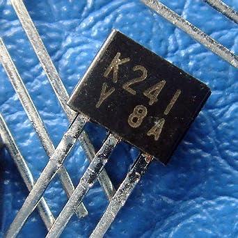 electronics-salon 10pcs 2sk241-y Toshiba FET para FM, vhfand Amplificador de RF: Amazon.es: Industria, empresas y ciencia