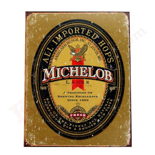 michelob-lager-tin-sign