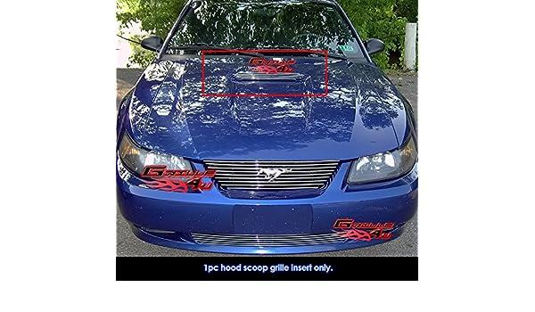 Amazon com: For 1999-2004 Ford Mustang V6 Base Model Hood