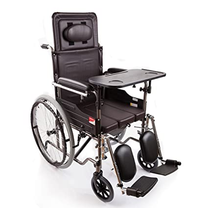 M-CH silla de ruedas Tipo plegable de la mitad-mentira, con ...
