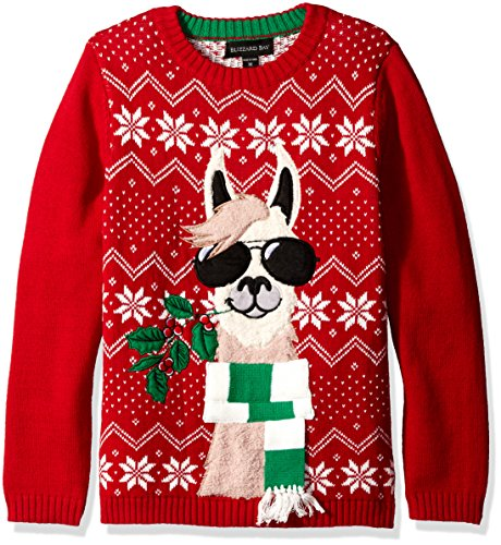 (Blizzard Bay Boys' Lama with Sunglasses, Red/Green,)