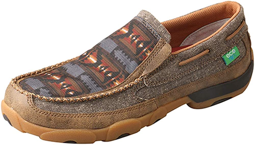 Twisted X Men's Slip-On Driving Moc Shoe 61Bvzssxd1L