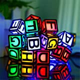 Solar Powered String Lights,30 LED Waterproof Letters Outdoor Fairy Lights for Kids Bedroom Decoration Outdoor Indoor Bedroom, Patio, Lawn, Landscape, Garden, Home, Wedding(Multi-Color)