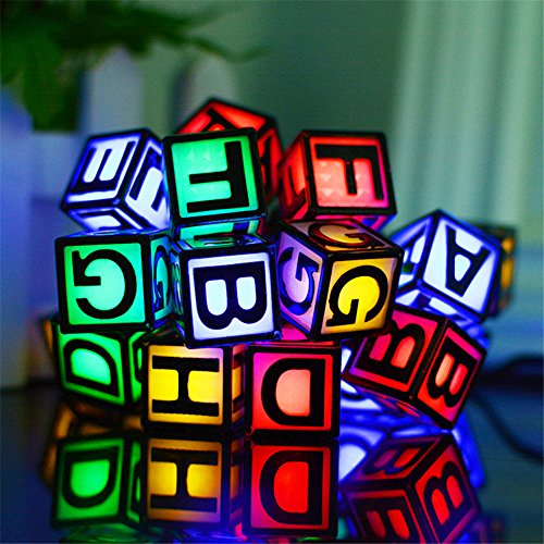 Solar Powered LED Letter String Light,YiMiky Waterproof 30 LEDs String Lamp Strung on a Path and Wrapped Around the Trunk of a Tree for Christmas Festival Party Decoration String Lighting(Colourful) by YiMiky
