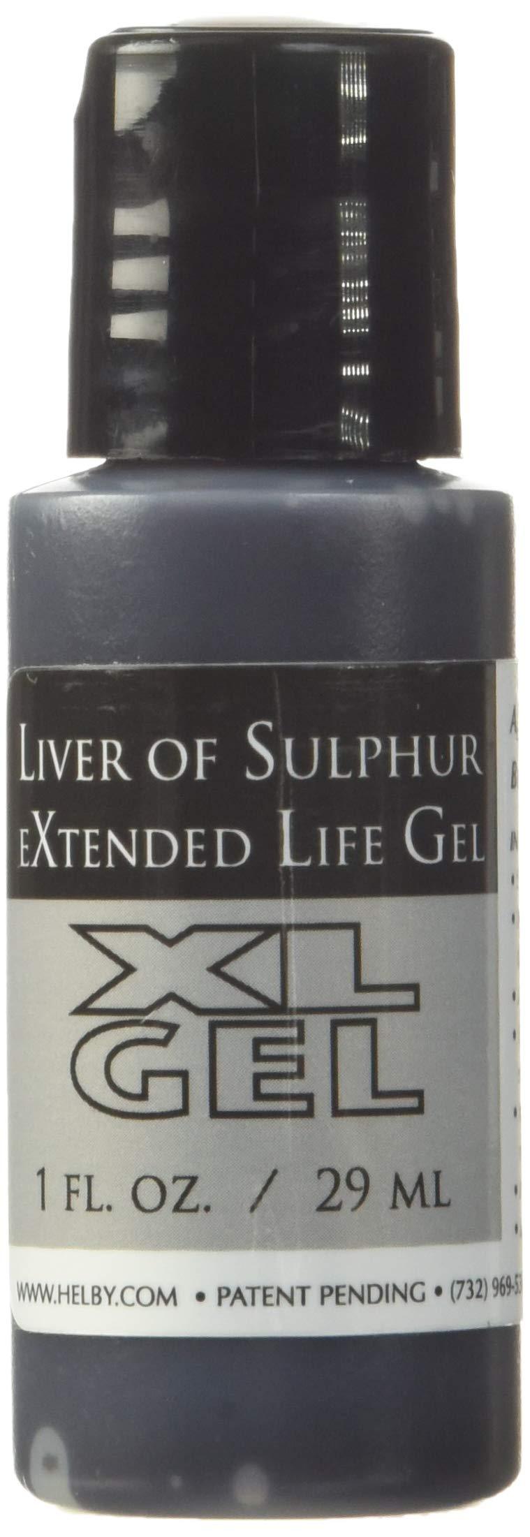 Liver of Sulphur Gel, 1 Ounce Bottle | SOL-610.01