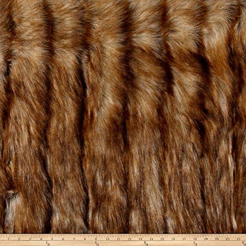 Shannon Luxury Faux Fur Wild Coyote Honey