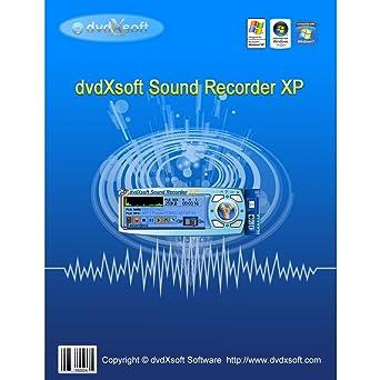 Amazon com: dvdXsoft Sound Recorder XP [Download]: Software