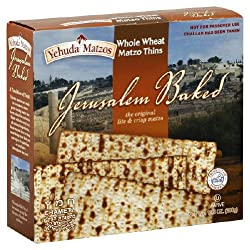 Yehuda Whole Wheat Matzo Thins