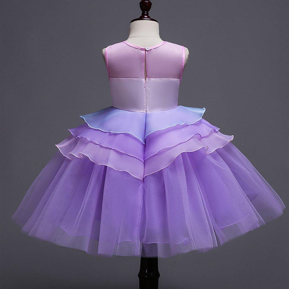 ADHS 19929 - Vestido de de fiesta para fiesta niñas, diseño de ...