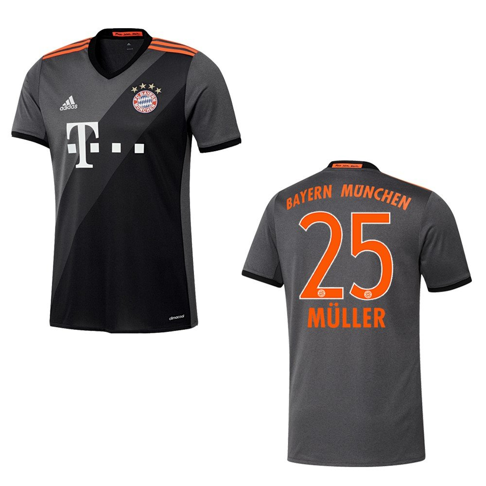 Adidas Trikot FC Bayern München 2016-2017 Away - Müller 25