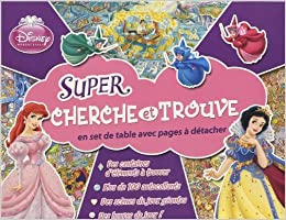 Disney Princesses Super Cherche Et Trouve Amazon Fr