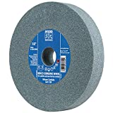 "PFERD 61785 Bench Grinding Wheel, Silicon Carbide, 6"" Diameter, 3/4"" Thick, 1"" Arbor Hole, 60 Grit, 4140 Maximum RPM"