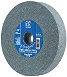 Pferd 61785 Bench Grinding Wheel, Silicon Carbide, 6'' Diameter, 3/4'' Thick, 1'' Arbor Hole, 60 Grit, 4140 Maximum RPM