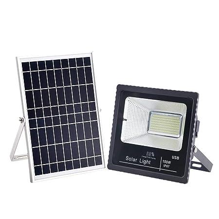 HUI LIGHT Seguro Solar Foco Proyector LED,Proyector De ...