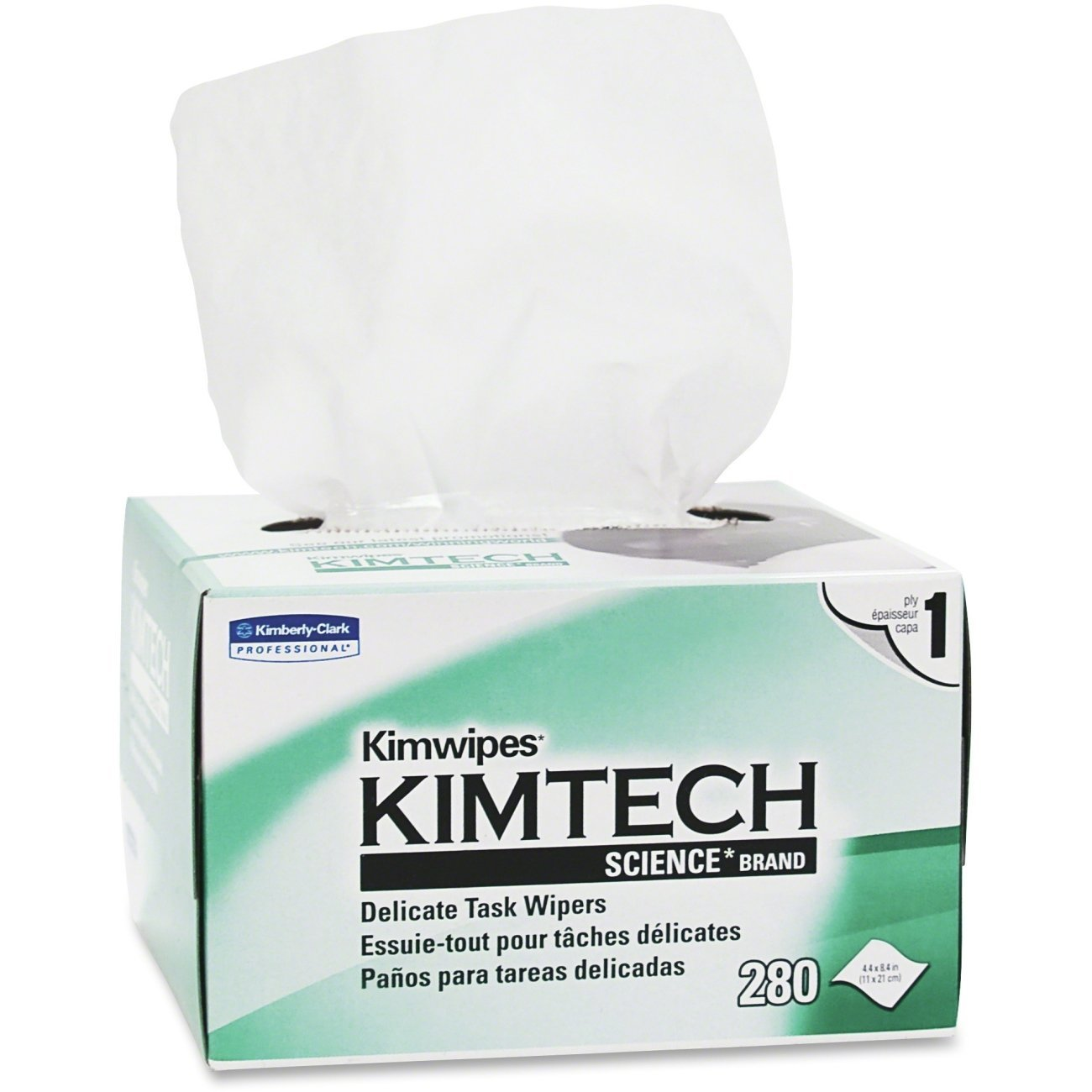 Kimtech Science Task Wipes Six Pack Kimwipes KCC34155-06 (Original Version)