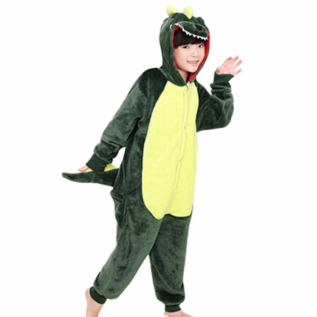 Kids child Cute Cartoon Animal Flannel Pajamas Cosplay Sleepwear Party Costume QIYUN.Z 3030S-SUM2/1ONE