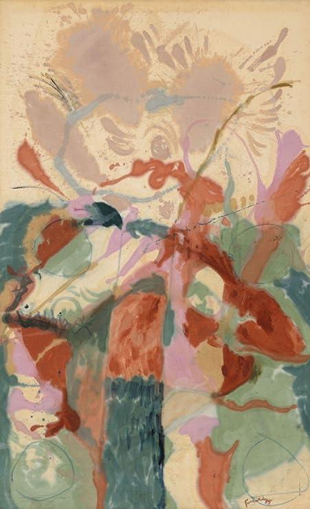 El Museo de salida – Helen Frankenthaler – Escalera de Jacob, Galería de lienzo envuelto. 16 x 20