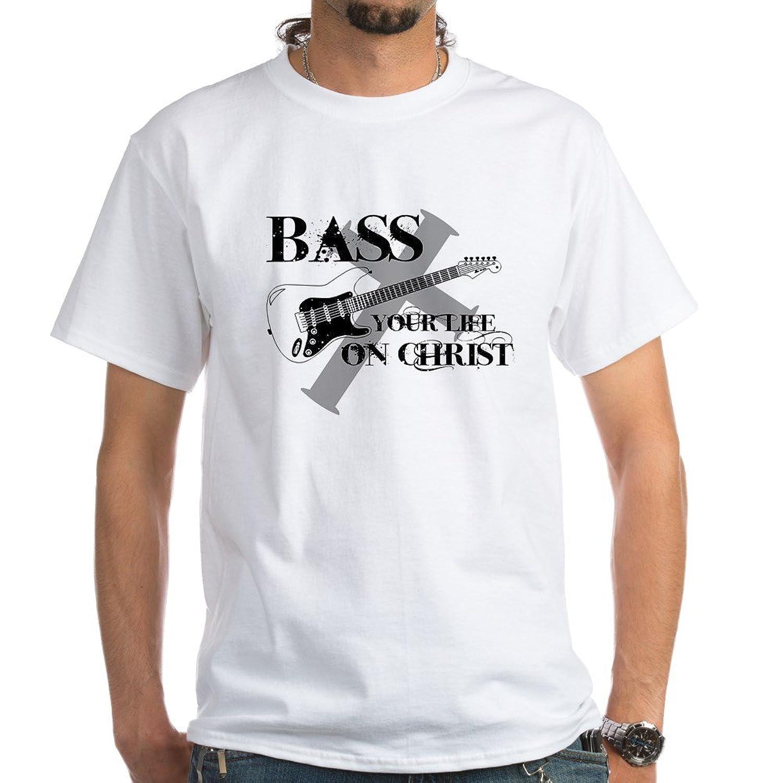 CafePress Bass Christ White T Shirt Image 1
