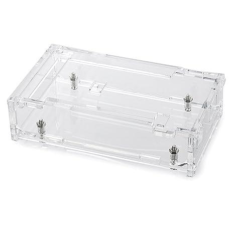 Acrílico Buzón Funda Box Case Shell Carcasa para Arduino ...