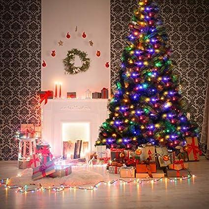 Amazoncom Goplus Artificial Christmas Tree Premium Spruce Hinged