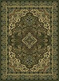 Cheap Radici USA 5'5″ x 7'7″ Rectangular Oscar Isberian Rugs Area Rug Sage Color Machine Made Italy Castello Collection Floral Pattern