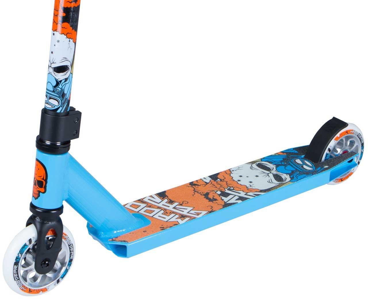 Madd Gear Kick Nuked Pro Scooter, Sky Blue / Orange: Amazon ...