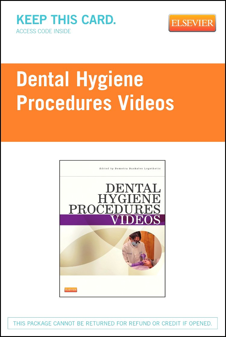 Dental Hygiene Procedures Videos - Access Code, 1e by Saunders
