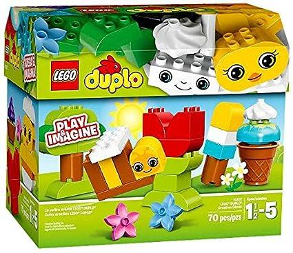 Amazoncom Lego Duplo Creative Chest Set 10817 Toys Games