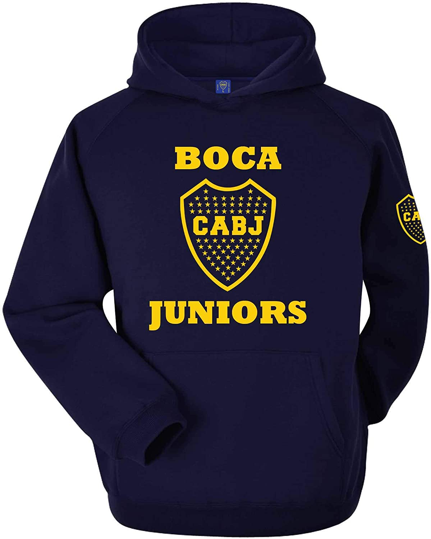Boca Juniors CABJ - Sudadera oficial con capucha (tallas de adulto S a 3XL)