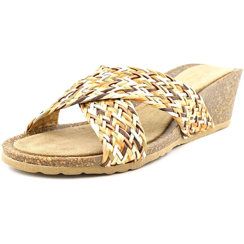 Bella Vita Women's Pavia Wedge Sandal B0163GB878 7 N US|Natural Multi
