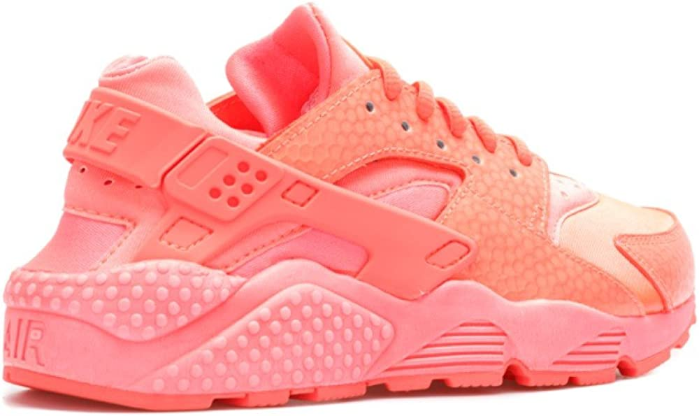 Nike Womens WMNS Air Huarache Run PRM Hot Lava Synthetic