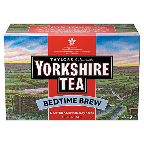 (Taylors of Harrogate Yorkshire Tea Bedtime Brew 40 tea bags,)