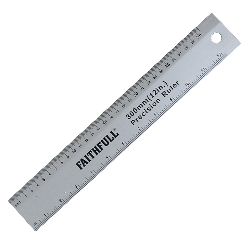 Faithfull RULE1000 - Regla de aluminio (1 m) FAIRULE1000-TB